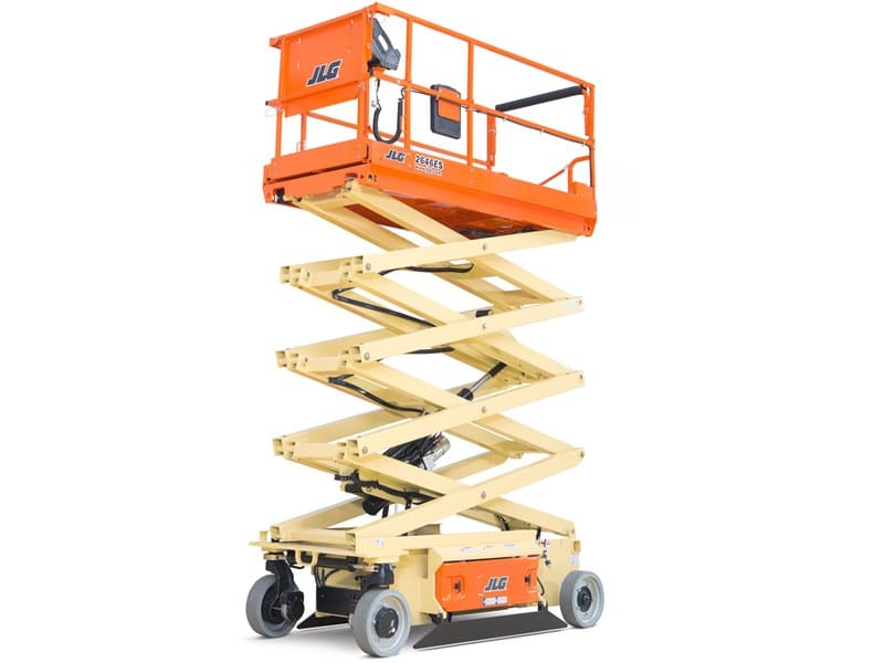 Electric scissor lift for hire
