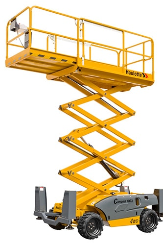 COMPACT 10 DX - Diesel scissor lift for sale