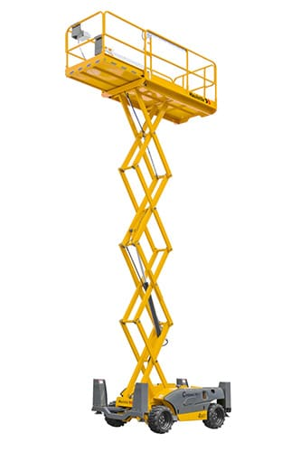 COMPACT 12 DX - Diesel scissor lift for sale