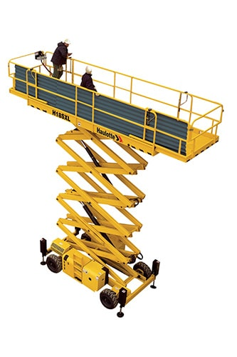 H12 SXL - Diesel scissor lift for sale
