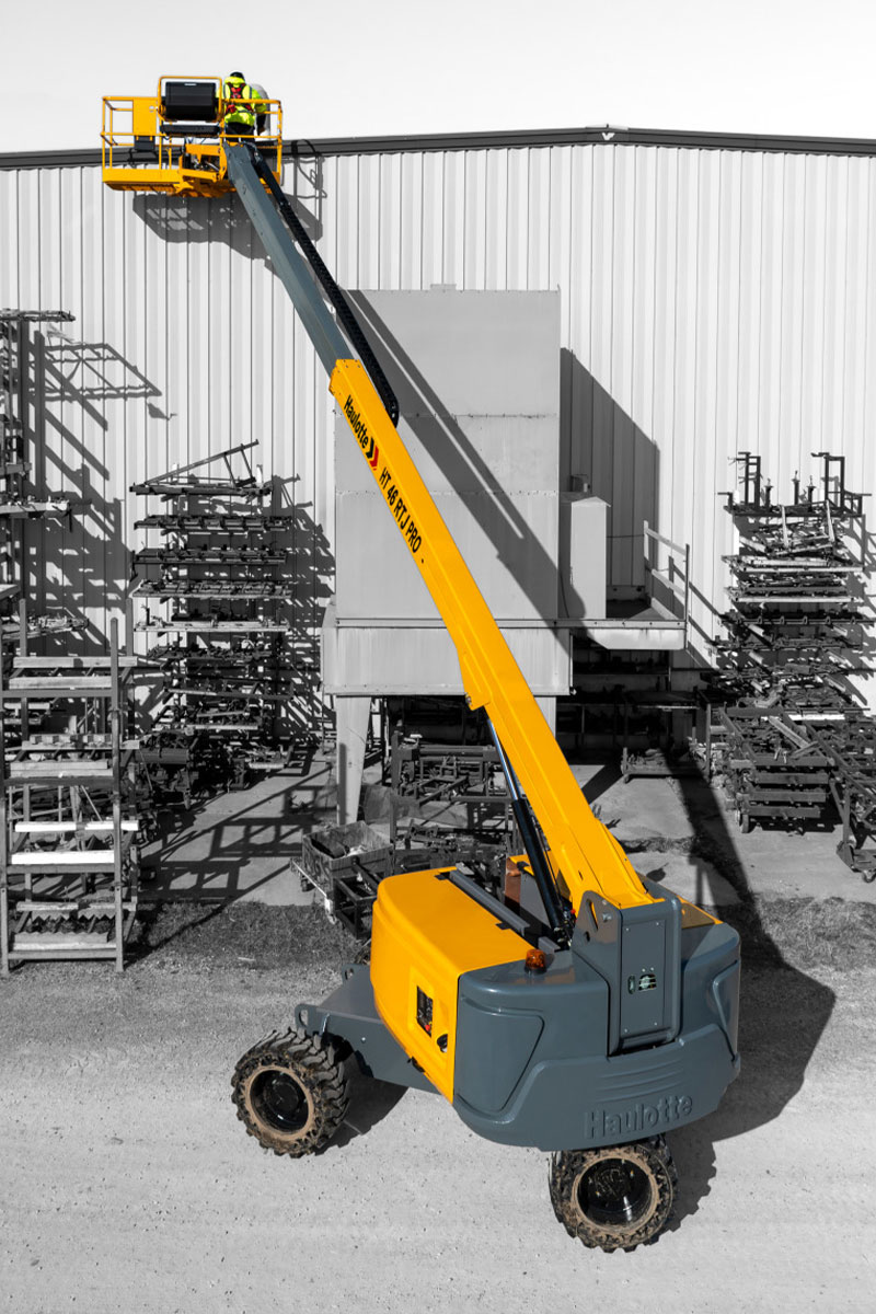 HT16 RTJ PRO diesel cherry picker sterling access image 03 - HT16 RTJ PRO - Diesel Telescopic Booms Lifts For Hire