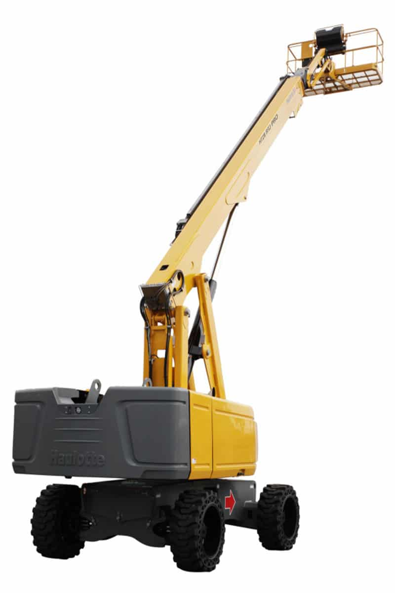 HT28 RTJ PRO cherry picker sterling access image 02 - HT28 RTJ PRO - Diesel Telescopic Booms Lifts For Hire