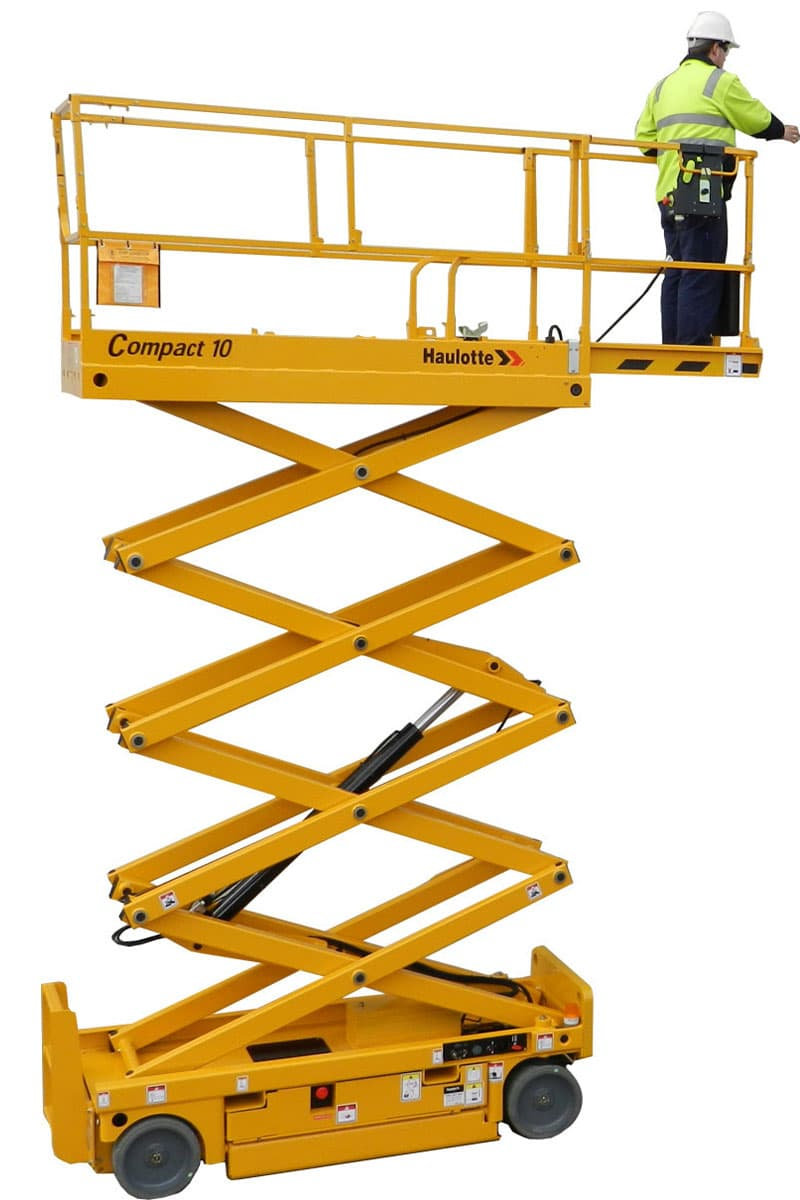 compact 10 sterling access electric scissor lifts - Compact 10 - Electric Scissor Lift For Hire