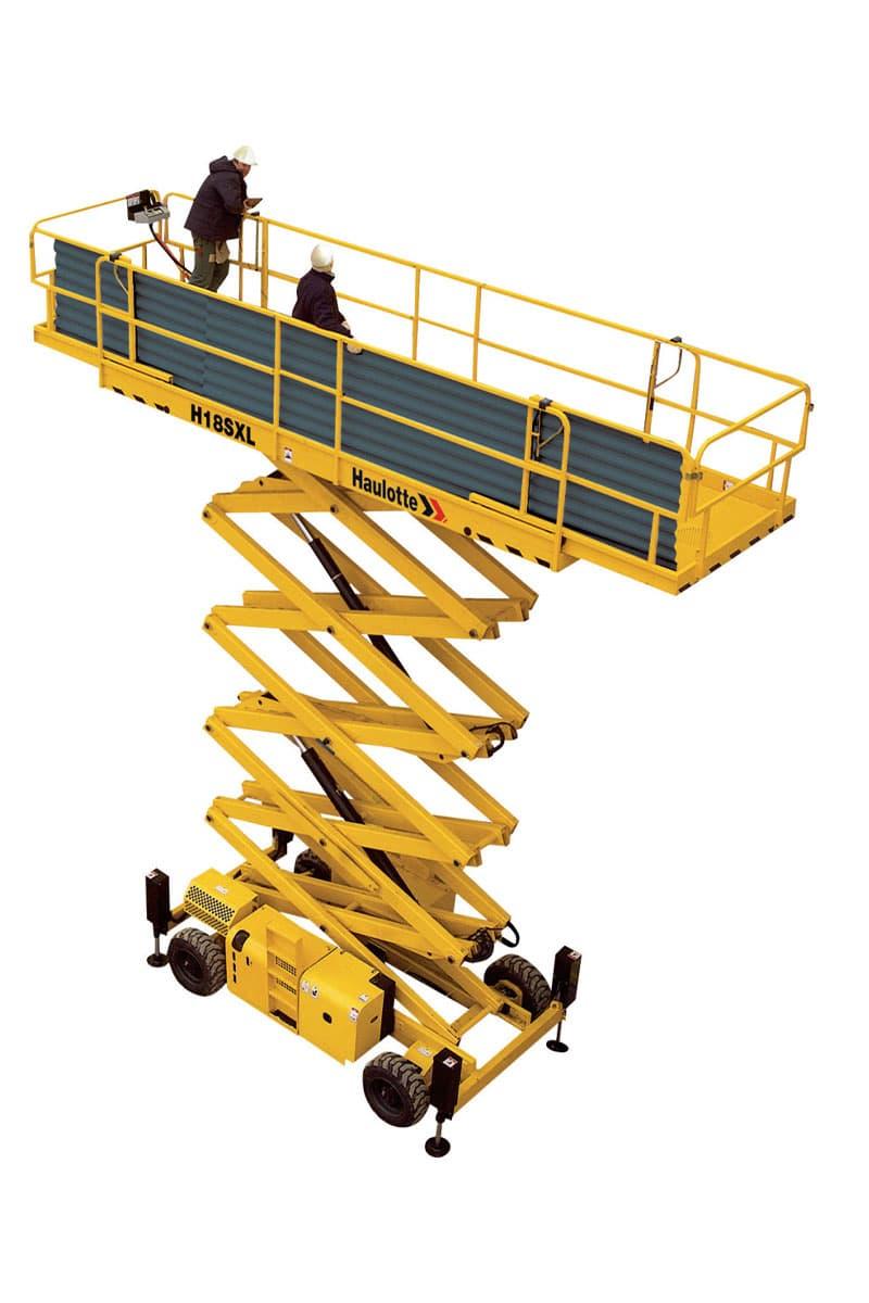 h15 sxl diesel scissor lift sterling access image 03 - H15 SXL - Diesel Scissor Lift For Hire