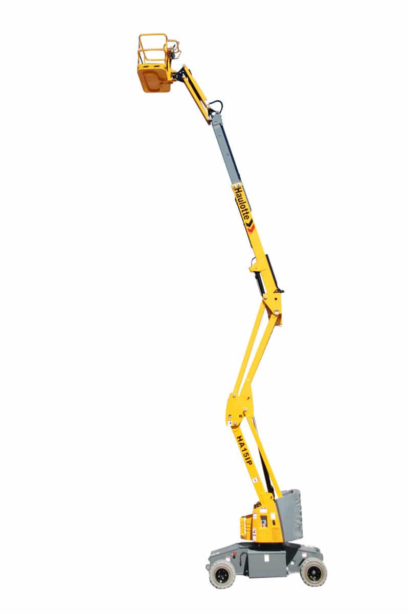 ha 15 ip boom lift electric sterling access image 01 - HA15 IP - Electric Articulating Booms For Hire