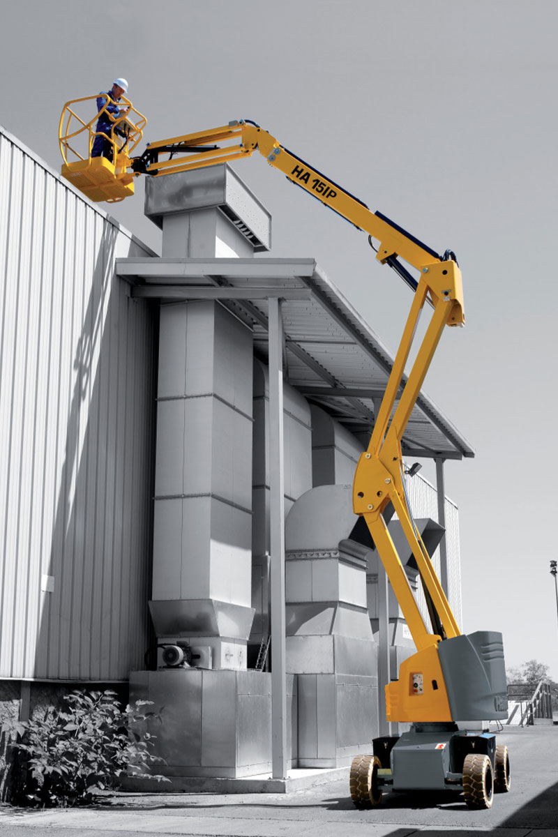 ha 15 ip boom lift electric sterling access image 02 - HA15 IP - Electric Articulating Booms For Hire