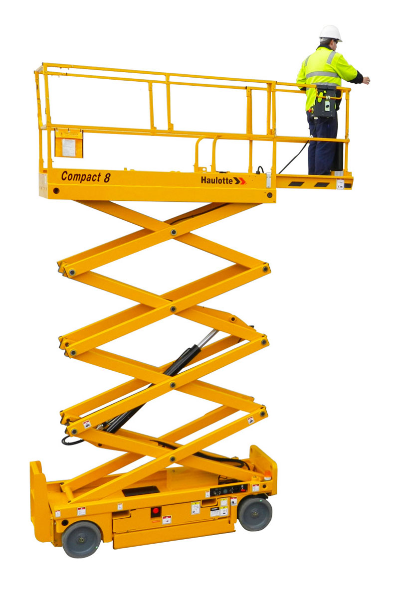 scissor lifts compact 8 sterling access image 01 - Compact 8W - Electric Scissor Lift For Hire