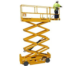 sterling access compact 10n electric scissor lift image 01 - Scissor Lift for Sale Electric