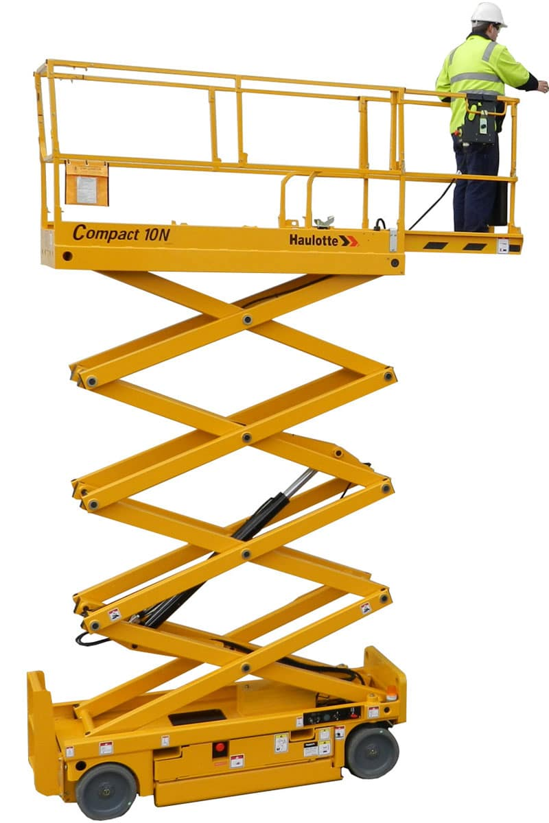 sterling access compact 10n electric scissor lift image 02 - Compact 10N - Electric Scissor Lift For Hire