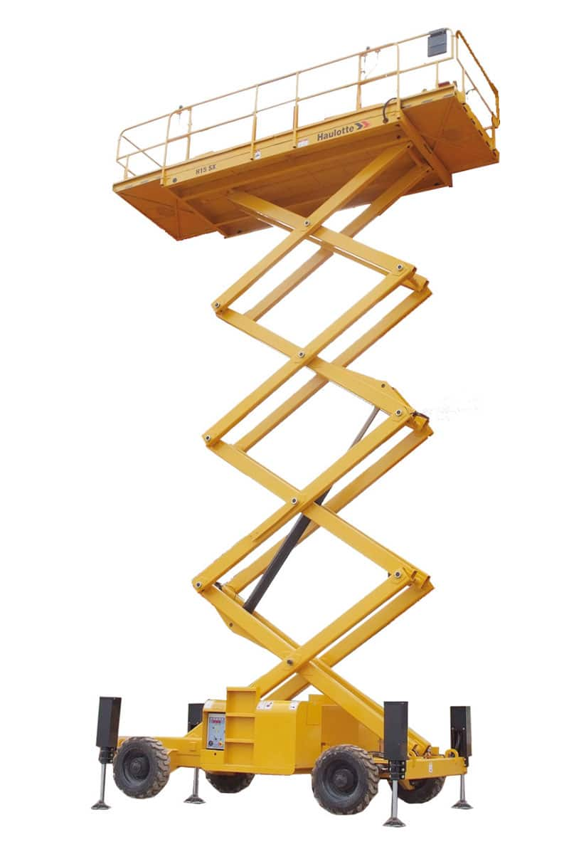 sterling access h12 sx diesel scissor lift for hire image 03 - H12 SX - Diesel Scissor Lift For Hire