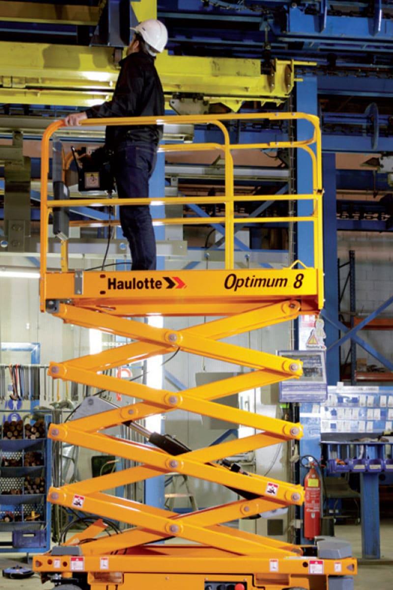 sterling access optimum 8 electric scissor lift image 03 - Optimum 8 - Electric Scissor Lift For Hire